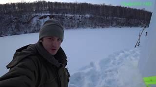 Рыбалка на реке ай зимой
