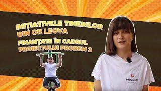 Inițiativele tinerilor din or Leova, finanțate în cadrul proiectului ProDem 2
