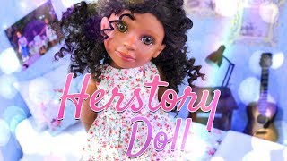 Unbox Daily: Herstory Doll | ALL NEW Fully Articulated 18 Inch Doll | Perfect Christmas Gift Idea