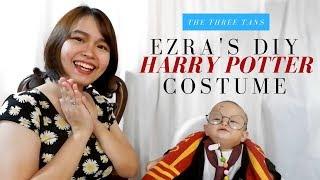 Ezras DIY Harry Potter Costume (Baby Halloween Costume Ideas)   Vlog #1