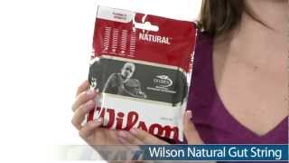 Wilson Natural Gut String (12m) video