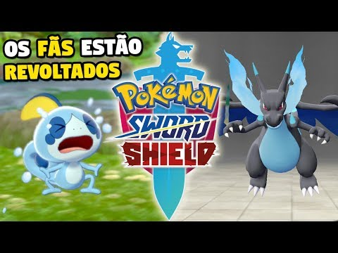 POLEMICA DE POKEMON SWORD E SHIELD - Tiraram a Mega Evolução