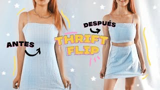 De ropa fea a aesthetic/Thrift flip tutorial sencillo