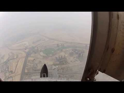 Watch A Sand Storm From The Top Of The Tallest Building In The World