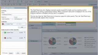 Navigate the interface: Analysis OLAP 4.x
