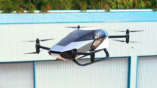 Xpeng Officially Released First Manned Electric X2 Flying Car