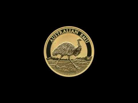 Video - 1 oz Australien Emu Gold - 2018