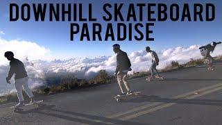 Maui is a Downhill Skateboarding Paradise