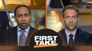 Stephen A. Smith: Kevin Durant should consider leaving Warriors | First Take | ESPN