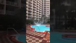Waterspout Over Hotel Pool In Florida - 990173