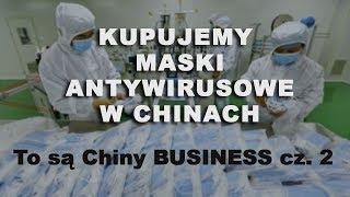 Fabryka masek antywirusowych w Chinach