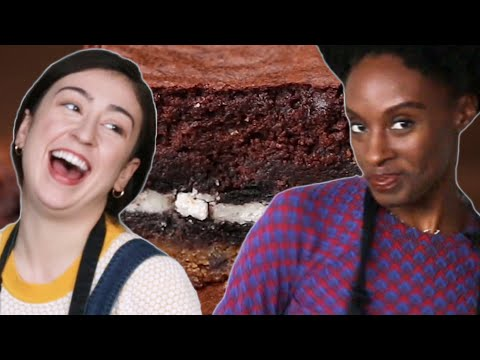 No Recipe Challenge: Oreo Cookie Brownies • Tasty