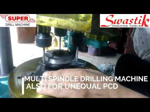 Multi Spindle Drilling machine for unequal PCD