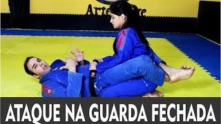 Jiu Jitsu   Excelente Ataque Na Guarda Fechada