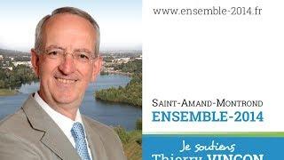 preview picture of video 'Ensemble2014 : fidèles à Saint-Amand-Montrond'