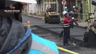 TV MUNICIPIOS – EN MADRID – CUNDINAMARCA SE LLEVAN A CABO OBRAS DE ADECUACIÓN DE VÍAS URBANAS