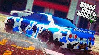 GTA 5 Моды - Nissan Skyline GT-R r32 ( Обзор Ниссан Скайлайн )