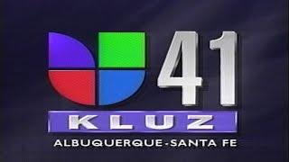 Univision 41 - KLUZ TV Local Programming Presentation 1995