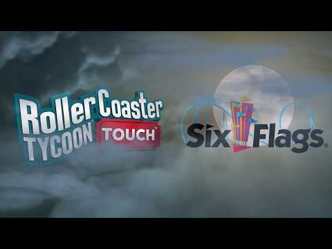 RollerCoaster Tycoon Touch Six Flags Fright Fest Trailer