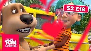 Talking Tom and Friends -  The Love Ride | Season 2 Episode 18