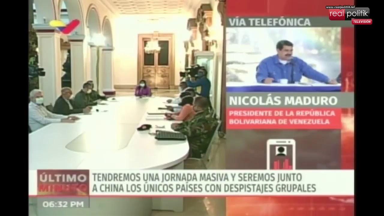 Venezuela: Repasá las últimas medidas de Nicolás Maduro para contener al coronavirus