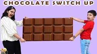 CHOCOLATE SWITCHUP CHALLENGE   Funny chocolate challenge   Aayu and Pihu Show