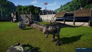 Jurassic World Evolution: Metriacanthosaurus Killing Spree