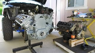 HEMI Swap with Jasper Engines Replacement 5.7 in a Dodge Ram 1500 on 37