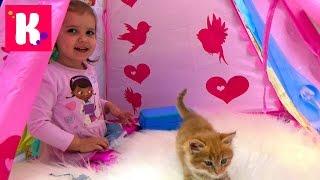 Доктор Плюшева - набор ветеринара/ Играем с кошечкой Муркой