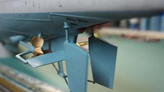 PART EIGHT : Trumpeter DKM U-Boat Type VIIC U-552 : Stern Main hull & Motorize Propellers