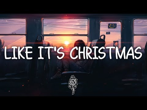 Jonas Brothers - Like It's Christmas (Lyrics)