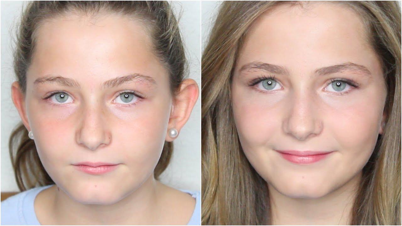 Maquillaje para niñas ocasión especial con Laura