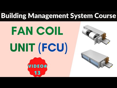 FCU Fan Coil Unit Working|BMS Training 2021|Building Management System Training