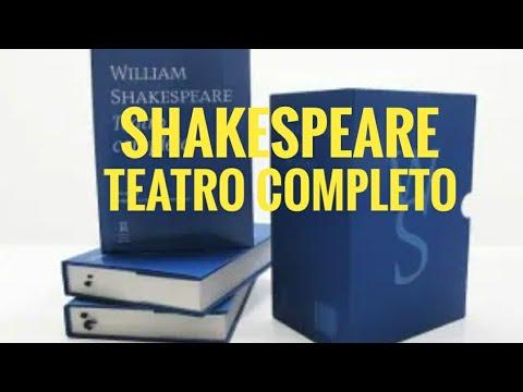 Box Teatro Completo de William Shakespeare