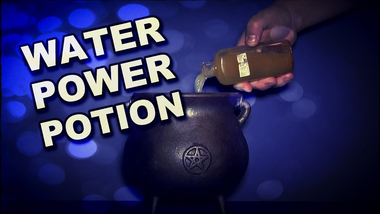 How To Make A Potion To Give You Water Powers
