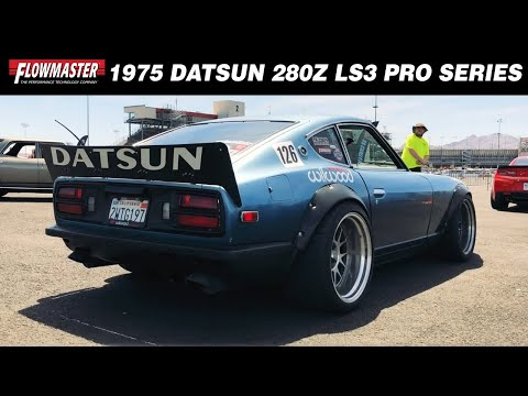 1975 Datsun 280Z with LS Engine and dual 3