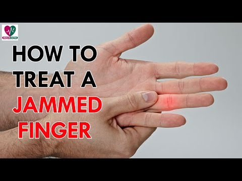 Video How to Treat a Jammed Finger - Health Sutra