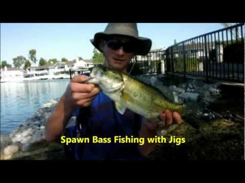 Spawn Bass Fishing with Jigs- Flatlands Custom Tackle