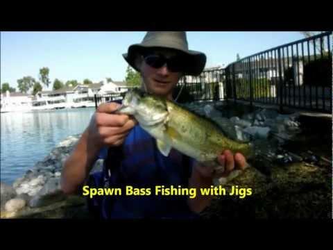 Spawn Bass Fishing with Jigs- Flatlands Custom Tackle