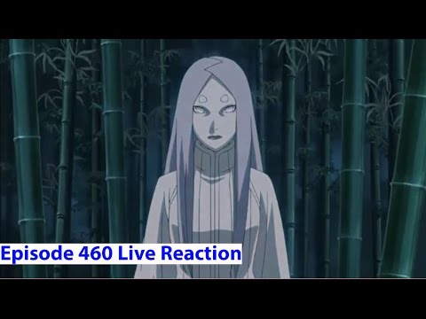 Naruto Shippuden Anime Episode 460 Live Reaction - Kaguya's Past & Haki?!?!