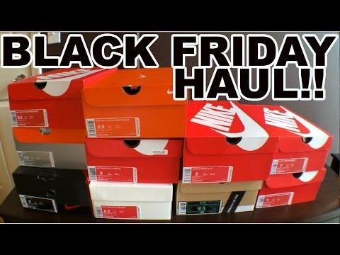 Black Friday Nike Pick Up Haul! November 2013