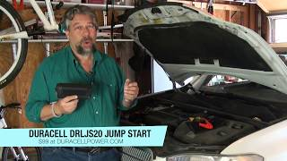 Duracell DRLJS20 Portable Lithium Ion Car Jump Starter - REVIEW