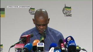ANC recalls President Jacob Zuma (Full media briefing)