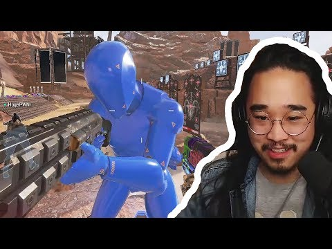 The Dummies in Firing Range Come ALIVE (and shoot back!) Easter Egg - Apex Legends