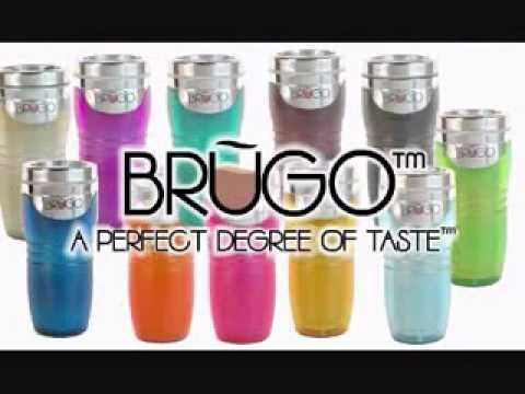 BRUGO Thermobecher, Kaffeebecher, Teebecher, Coffee-to-go Becher