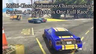 Full Race GTA Online Multi-Class Endurance Championship Season Four Race 3 Xbox One