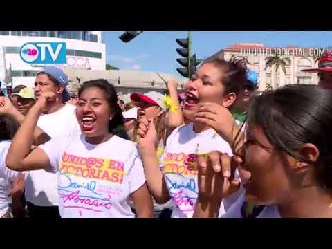 Movimiento Alexis Argüello celebra 66 aniversario del natalicio del púgil nicaragüense