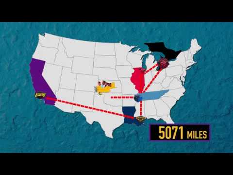 Lakers Roadtrip MAP Animation Mp3