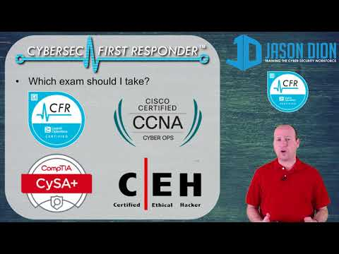 My Initial Thoughts on the CyberSec First Responder (CFR ...