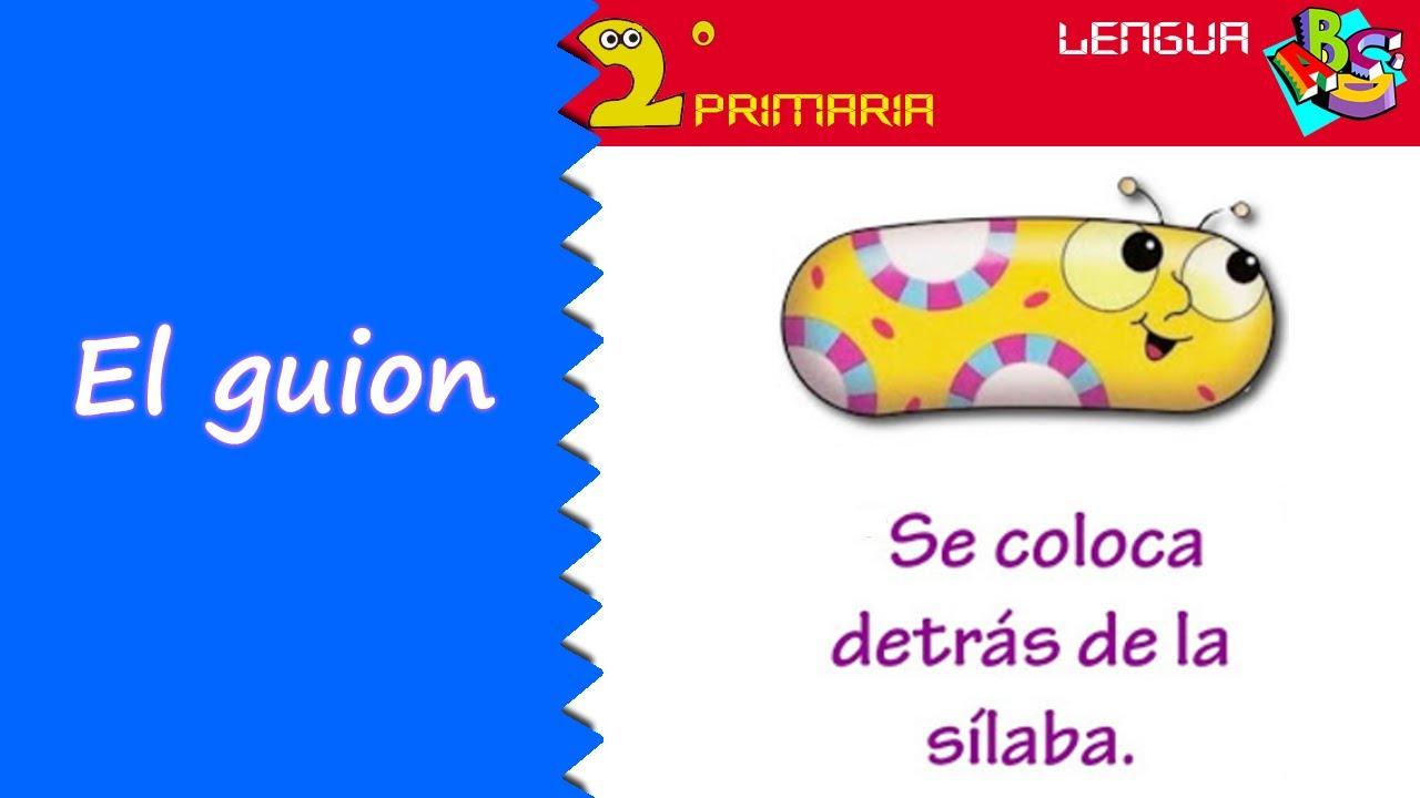 Lengua Castellana. 2º Primaria. Tema 1. El guion